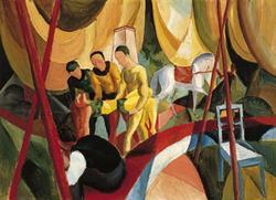 Circus_1913_MUSEO THYSSEN-BORNEMISZA, Madrid